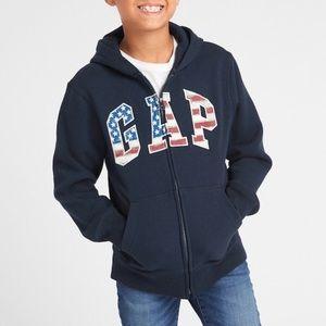 Kids Americana Gap Logo Hoodie Sweatshirt